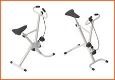 Exercise bike gym 3d illustration Stock Photography