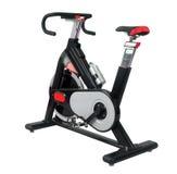 Exercise bike. Isolated on white Royalty Free Stock Image