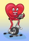Exercise bike. Royalty Free Stock Photography