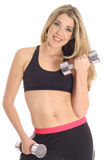 Exercise Blonde Stock Image