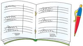 Exercise book Royalty Free Stock Photos