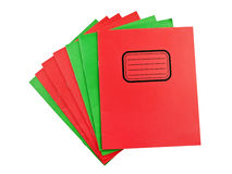 Exercise books Stock Image