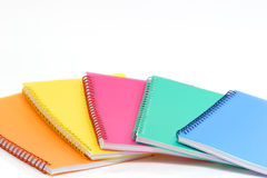Exercise Books Stock Photo