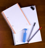 Exercise books Royalty Free Stock Photo