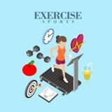 Exercise concept Stock Photos