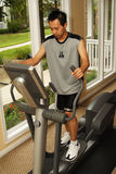 Exercise - Elliptical Cross Training Stock Image
