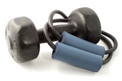 Exercise equipment Royalty Free Stock Photos