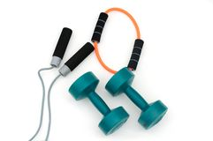 Exercise Equipment Royalty Free Stock Images