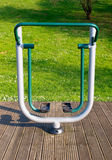 Exercise equipment in a park Stock Photography