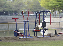 Exercise equipment Stock Image