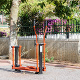 Exercise equipment in public park Royalty Free Stock Photography