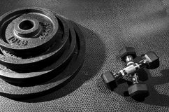 Exercise equipment Royalty Free Stock Photography