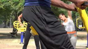 Exercise Fitness And Health. Stock video in 4k or HD resolution stock video footage