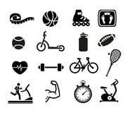 Exercise and Fitness Icons