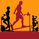 Exercise Flyer Royalty Free Stock Photo