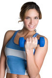 Exercise Girl Stock Photo
