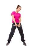 Exercise girl Royalty Free Stock Photo
