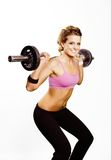 Exercise girl Stock Photography