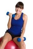 Exercise Girl Royalty Free Stock Image