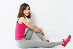 Exercise girl Stock Photography