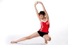 exercise girl squat strech Στοκ εικόνες με δικαίωμα ελεύθερης χρήσης