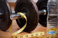 Exercise and Healthy Diet Royalty Free Stock Photo