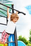 Exercise horizontal bar Royalty Free Stock Photos