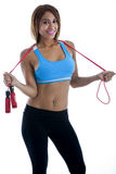 Exercise: Jump Rope Stock Photos