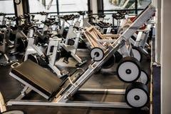 Exercise machines Stock Photography