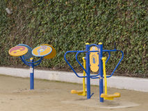 Exercise machines Royalty Free Stock Images