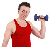 Exercise man Stock Photos