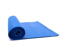 Exercise Mat Stock Photography