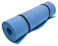 Exercise Mat. Clipping path included Royalty Free Stock Image