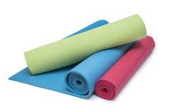 Exercise mats Stock Photo