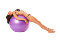 Exercise On A Sphere Royalty Free Stock Image
