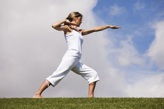 Exercise outdoor Royalty Free Stock Photography