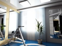 Exercise room Royalty Free Stock Photography