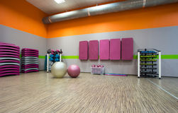 Exercise room Royalty Free Stock Image