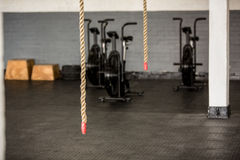 Exercise rope and equipment Royalty Free Stock Image