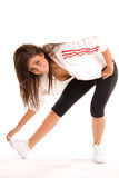 Exercise Stretching Girl stock photography