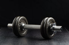 Exercise weights Stock Image