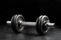 Exercise weights Royalty Free Stock Photo