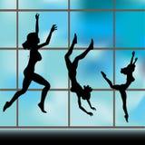 Exercise Window Royalty Free Stock Photos