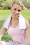 Exercise woman Royalty Free Stock Image
