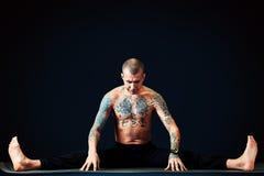 Exercise yoga Royalty Free Stock Image