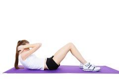exercises fitness physical Στοκ Φωτογραφία