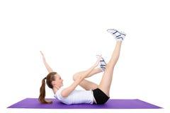 exercises physical Στοκ Φωτογραφία
