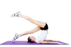 exercises sport woman Στοκ Εικόνες