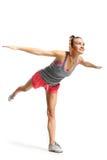 Exercises swallow Stock Photo