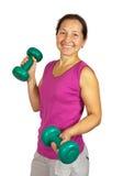 Exercising Stock Image